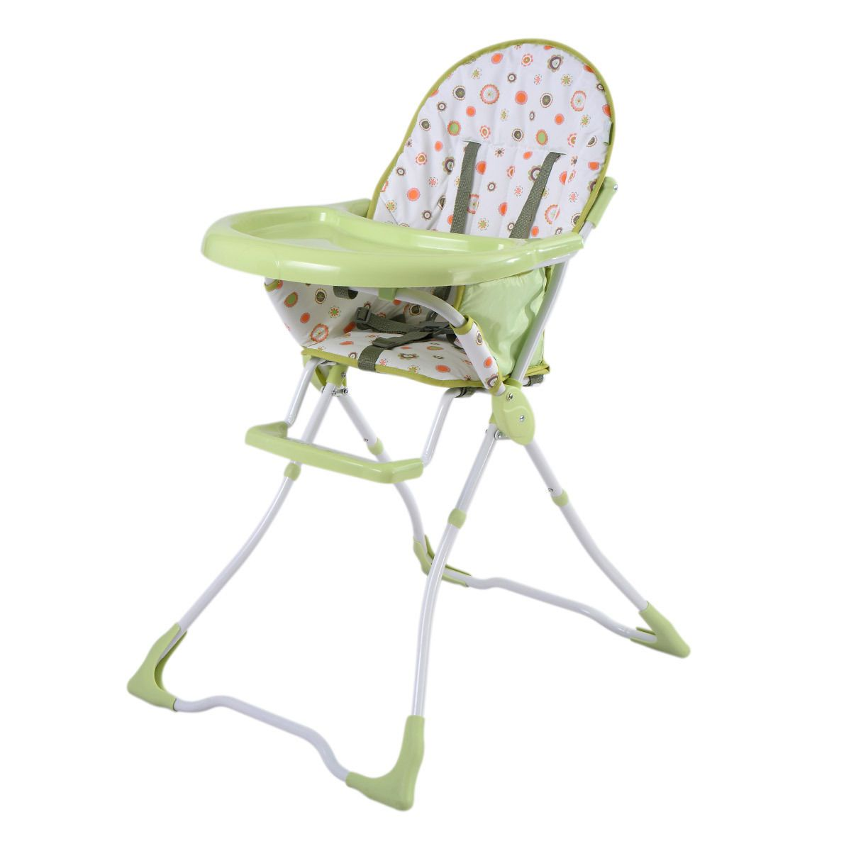 Baby Food Chair Green Baby High Chair Infant Toddler Feeding Booster Seat Portable