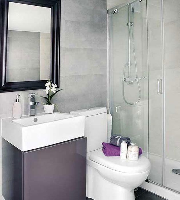 Banheiros pequenos planejados sugest es modelos fachadas for Modelos banos pequenos modernos