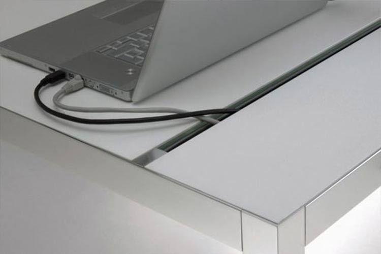 Pasacables para escritorio   Desks en 2019   Pasacables ...