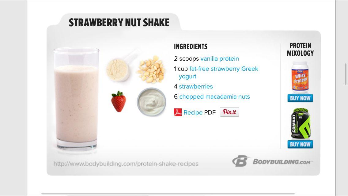 Strawberry Nut