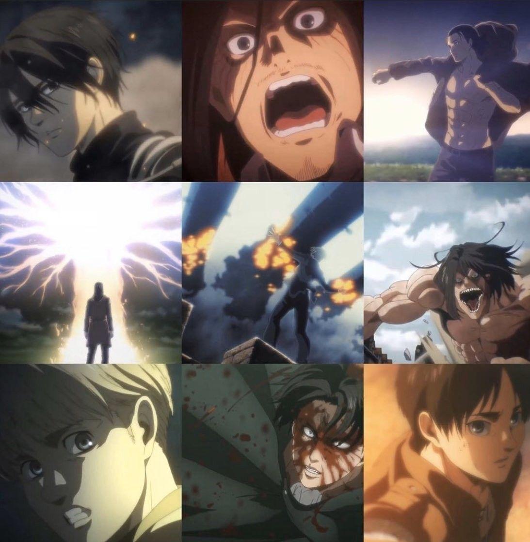 من تريلر الهجوم على العمالقة الجزء الرابع والاخير Attack On Titan Anime Aesthetic Anime Anime