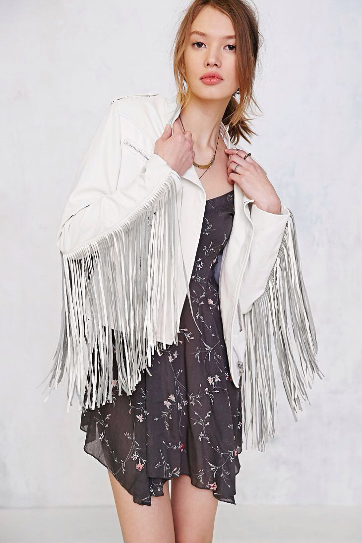 Fringe jacket Fringe jacket, Fringe clothing, Fringe