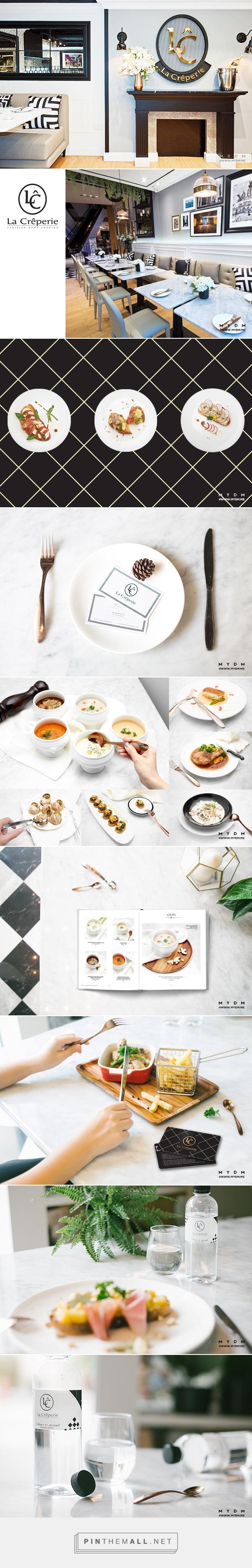 MYDM has created identity, menu design, food styling, including ...