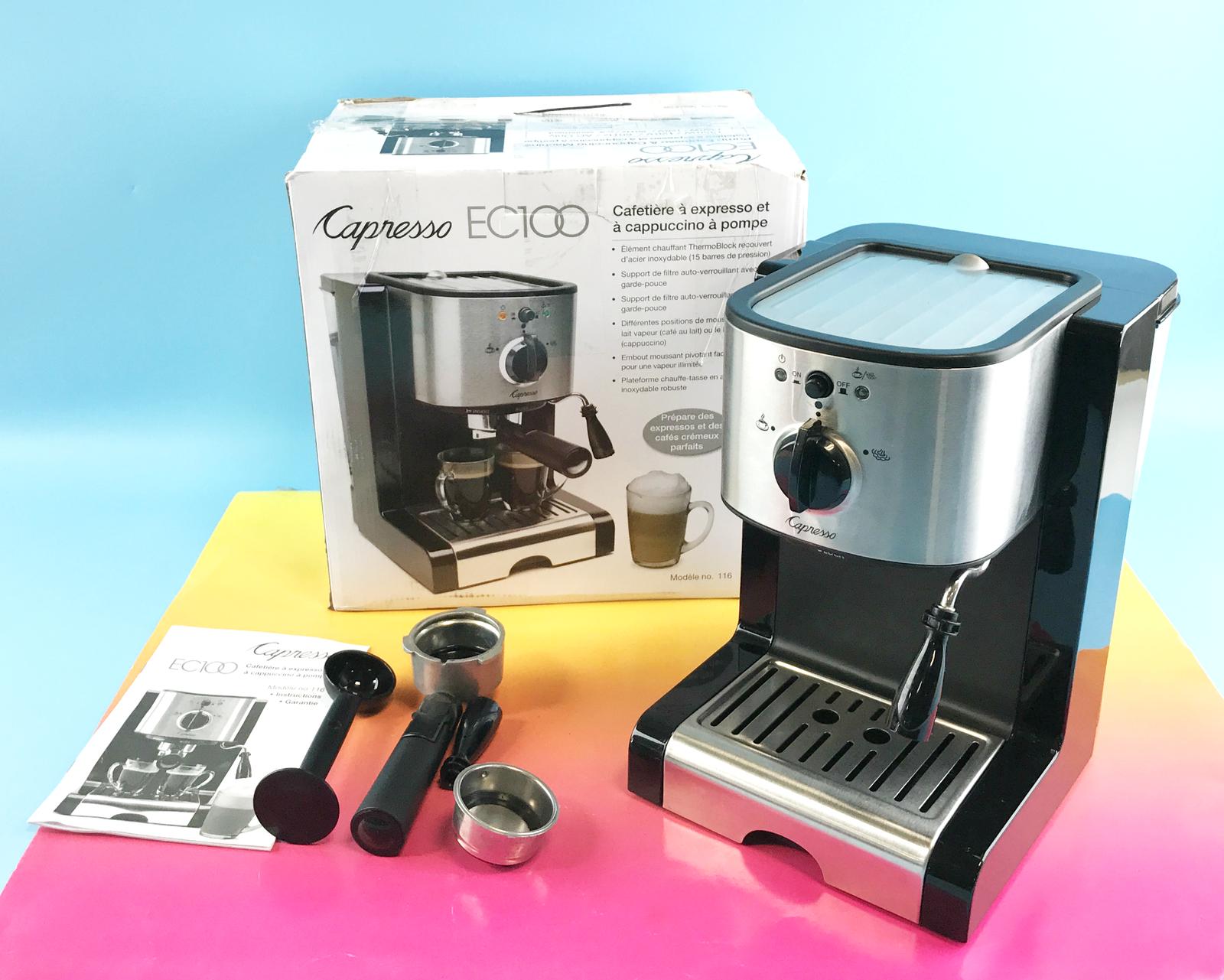 Details about Capresso EC100 Model 116 Pump Espresso and