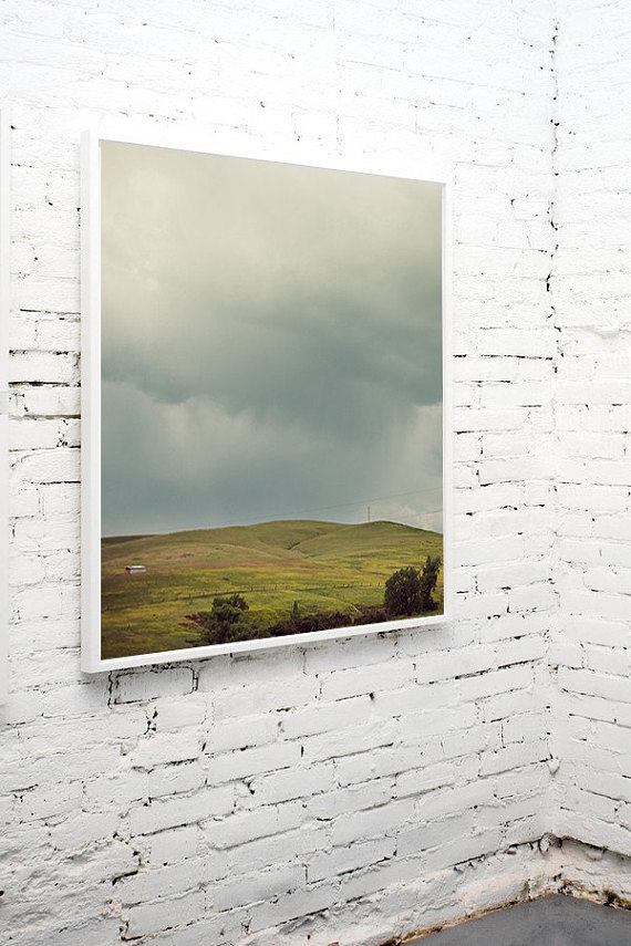 Hills Landscape Photography Gray Skies Grey Clouds Rolling Hills Summer Storm Hills 8x8 Nature Photographs Grey Skies