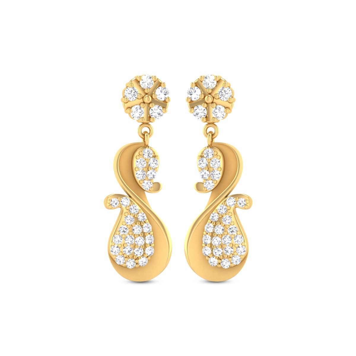 Cate Gold Earrings
