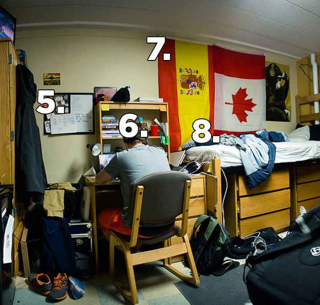 22 Things Every College Guy Has In His Dorm Room