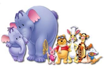 Winnie The Pooh And Friends Winnie The Pooh Friends Cartoon Clip Art Pooh