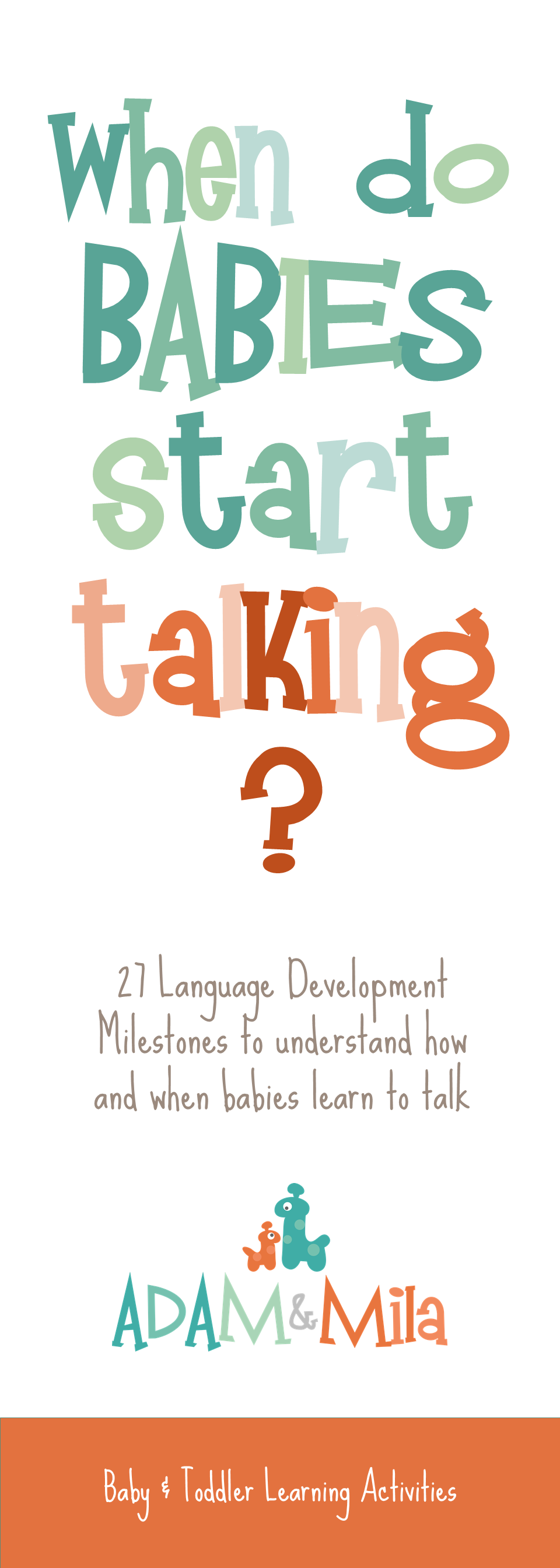 when do babies start talking 27 speech milestones parents should track
