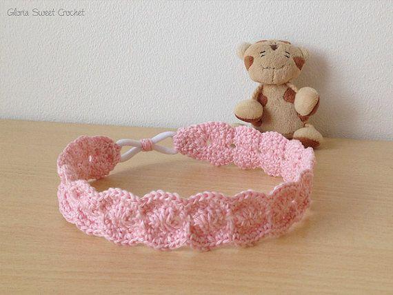 HAND Knitted per Capelli Clip