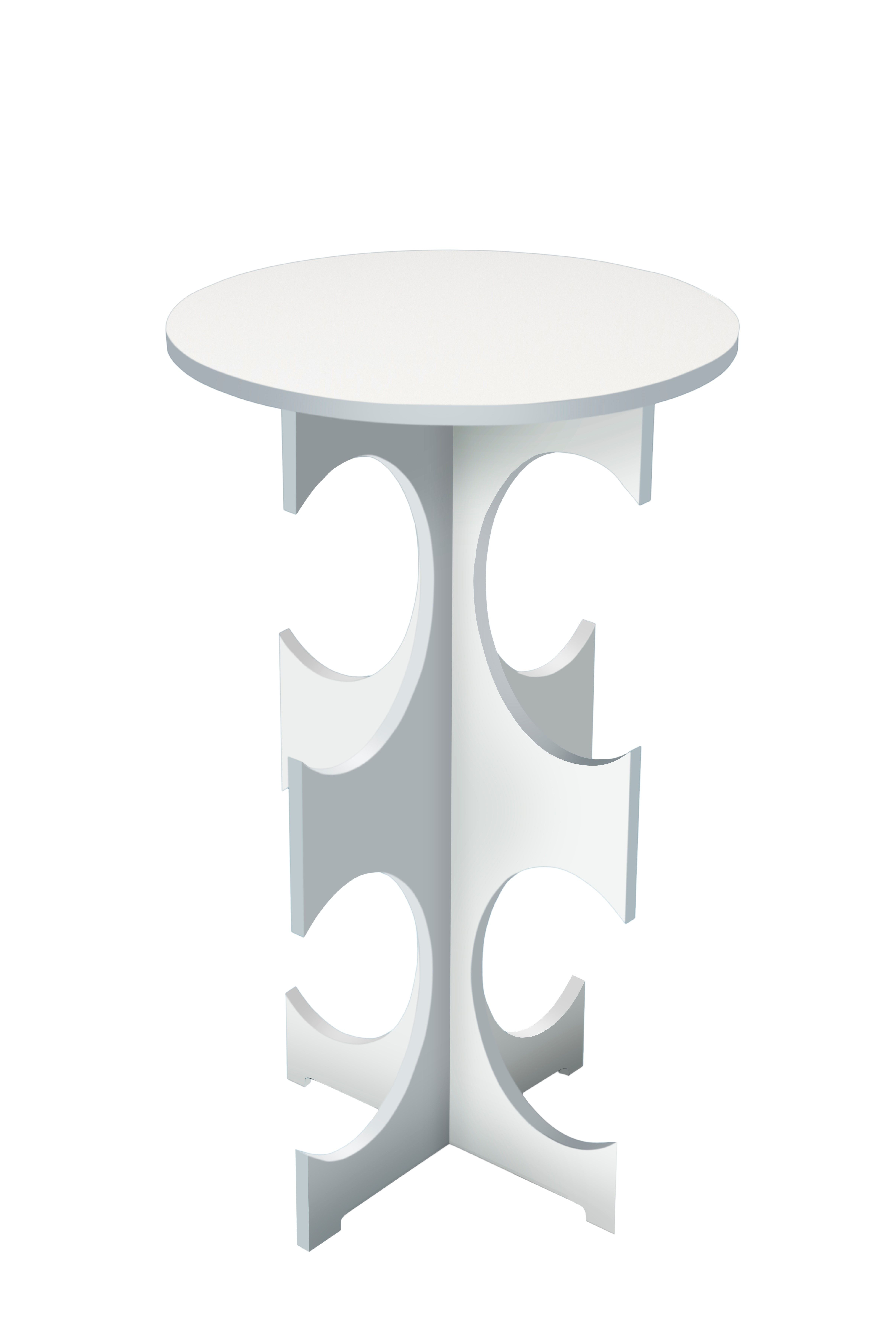 clearly classic amara side table in white by white webb on exclusive modern nesting end tables design ideas very functional furnishings id=33047