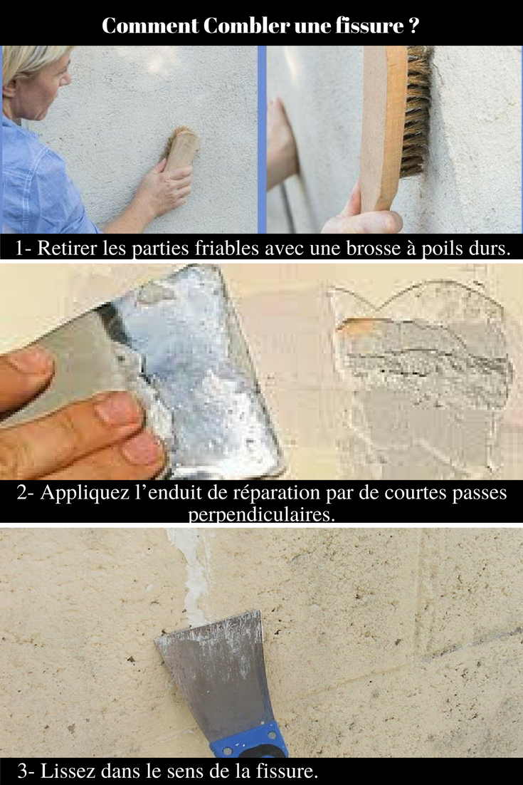 Réparer Un Carreau De Carrelage Fissuré tutoriel vidéo : comment reboucher des fissures ou des trous