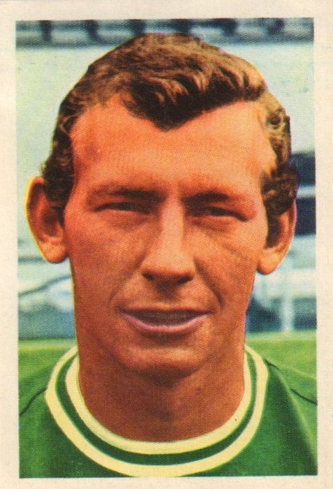 015 - Bob Wilson (Arsenal) - Unspectacular but reliable custodian who has been an understudy at Highbury for most of his service. Previously on the books of Wolves as an amateur he made his Arsenal bow as such, professional March 1964.