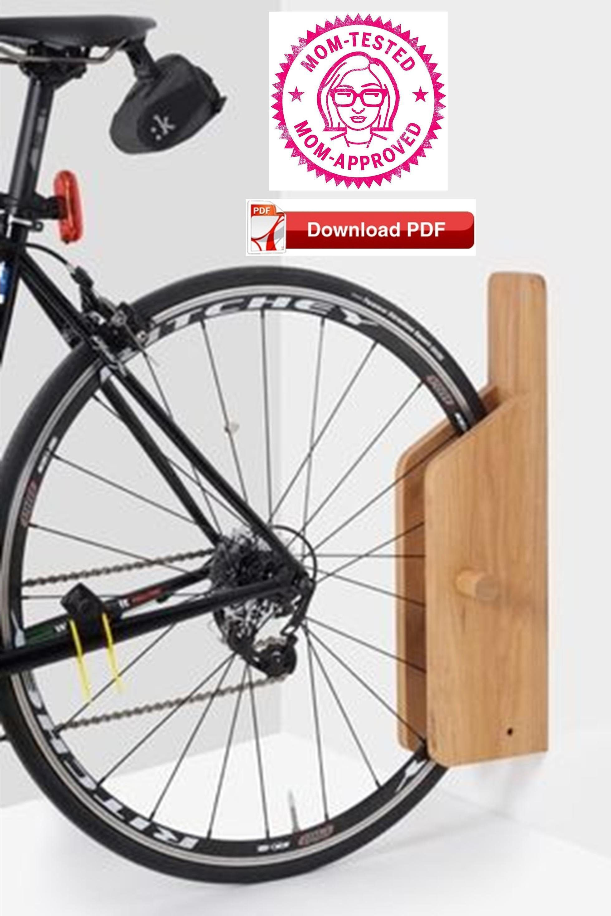 Wall Mount Bike Rack Plan Apartment Bike Stand Plan Compact Bike