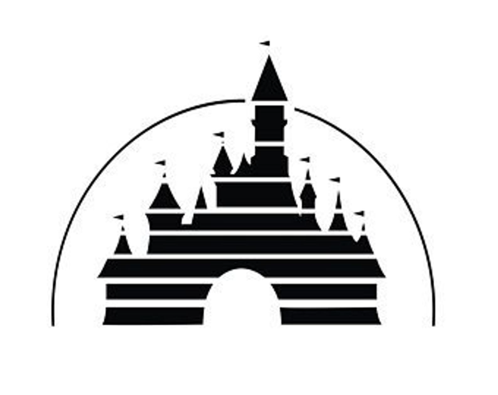 Disney Castle Vinyl Decal Sticker In 2021 Disney Castle Silhouette Disney Castle Drawing Castle Silhouette