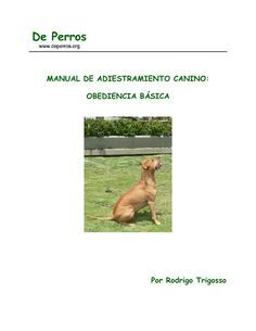 Manualdeadiestramientocanino by Kenny Castillo via slideshare