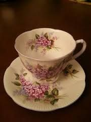 Resultado de imagen para blossom time teacup & saucer, lilacs, royal albert china