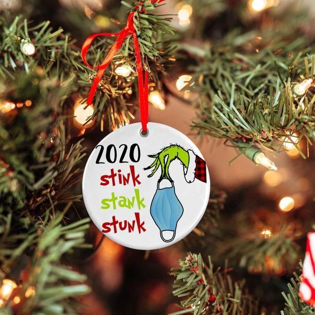 Christmas Hot Sales 2020 Stink Stank Stunk Christmas Ornaments In 2020 Christmas Ornaments Christmas Ornaments Sale Christmas Decorations To Make
