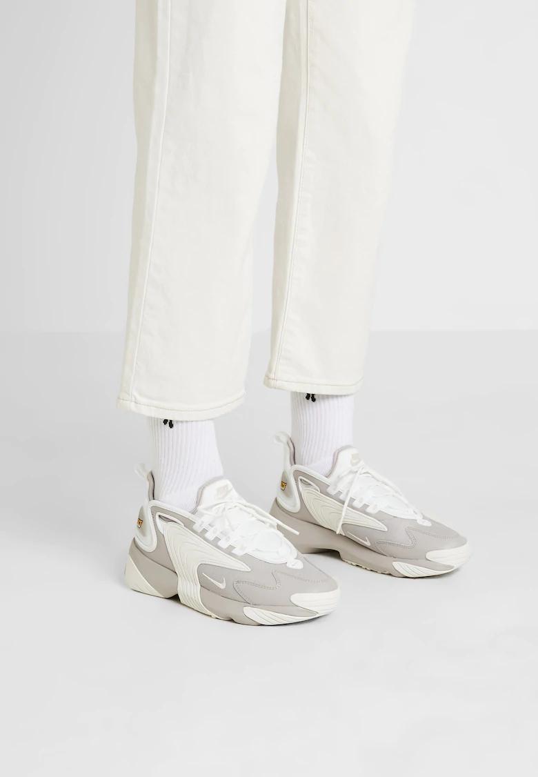 Nike Sportswear Zoom 2k Sneakers Moon Particle Summit White Zalando Dk Nike Sportswear Nike Damemode