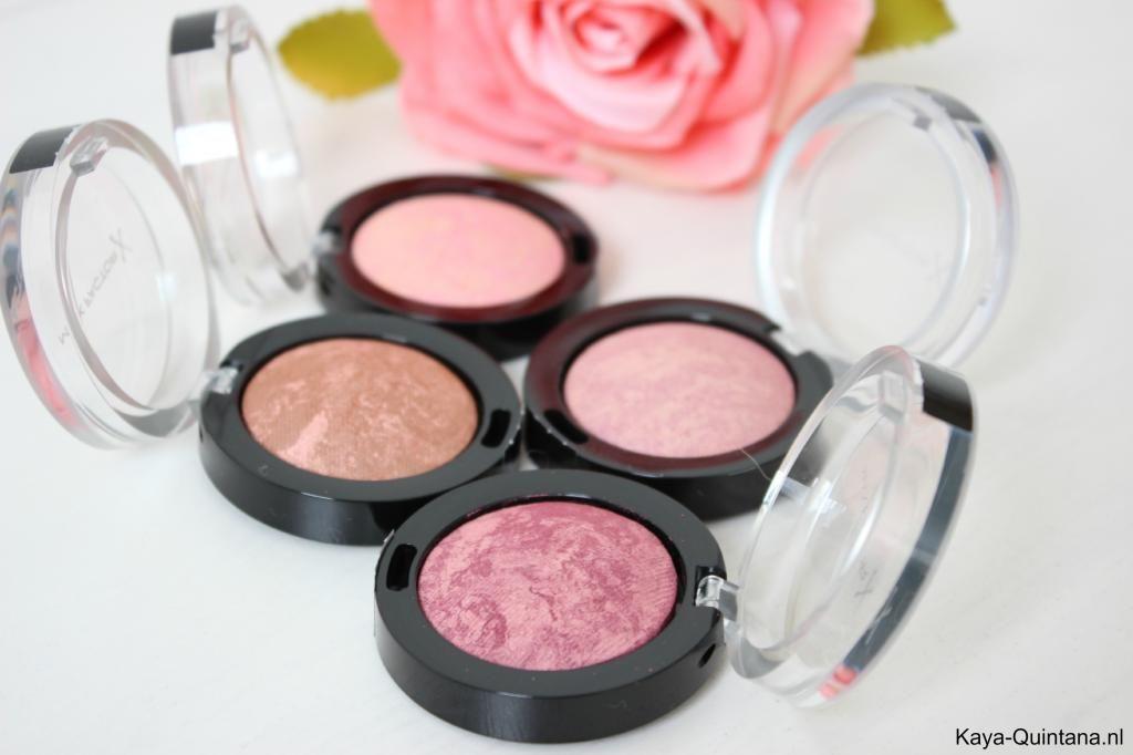 Make-up: Max Factor creme puff blushes #cremepuff
