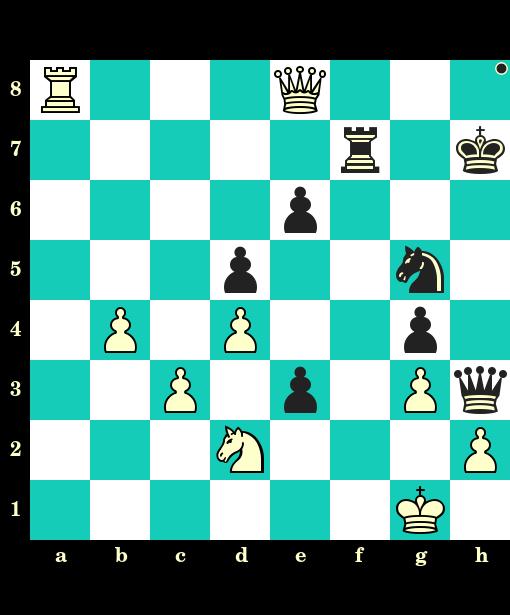 Black Mates in 3. Vladimir Kirillov vs Kan, Moscow, 1931 www.chess-and-strategy.com #echecs #chess #schach #ajedrez