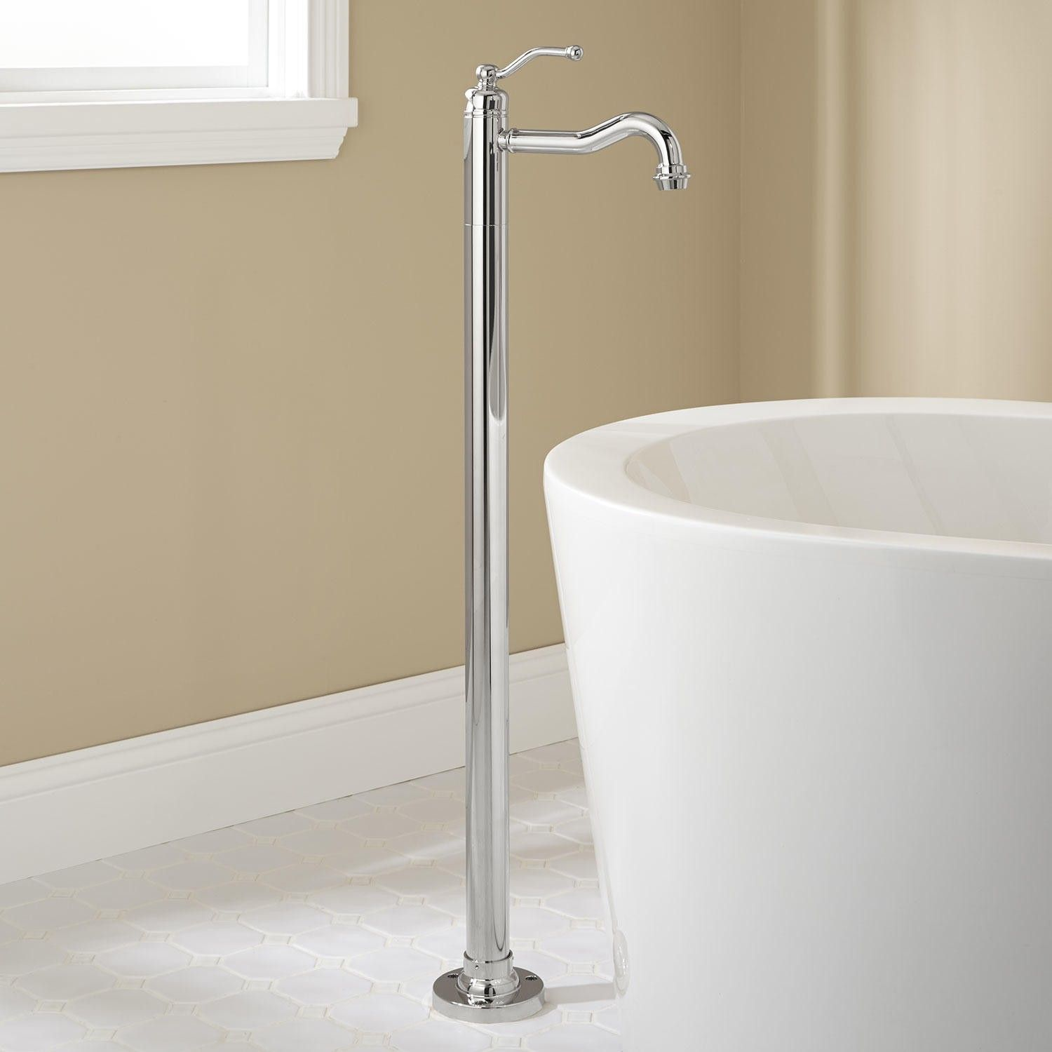 Leta Freestanding Tub Faucet | Freestanding tub, Faucet and Tubs