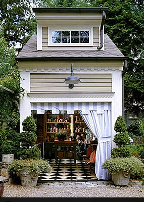 Brabourne Farm: Garden Shed Heaven - Pinned with Pin Anything from pin4ever.com