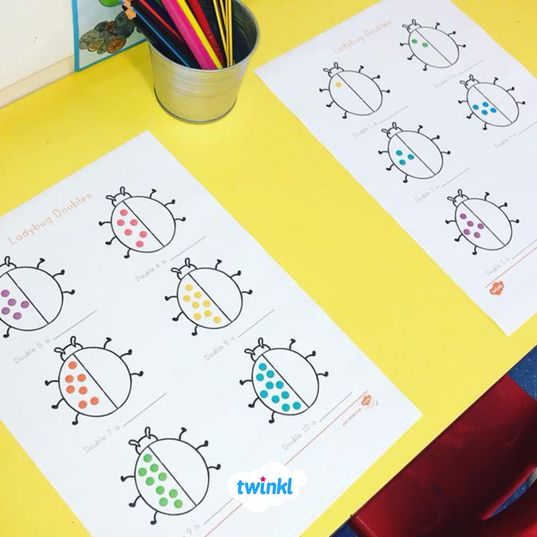 A Fun Maths Activity To Incorporate Into A Minibeasts