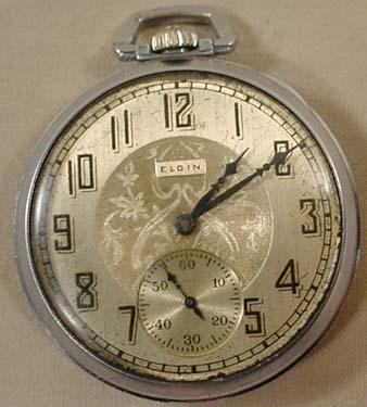 Elgin pocket watch dating