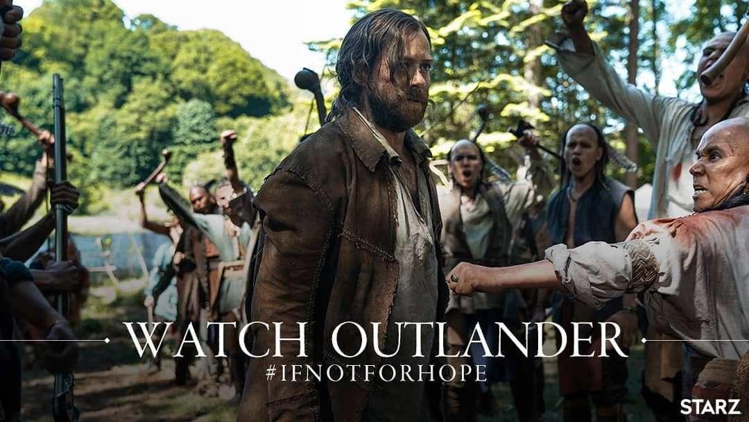Major Spoiler Promo Stills For Episode 4 11 Of Outlander If Not For Hope Outlander Online Outlander Outlander Tv Outlander Starz