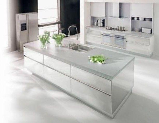 Strakke Witte Keuken : Strakke witte keuken keukens kitchens