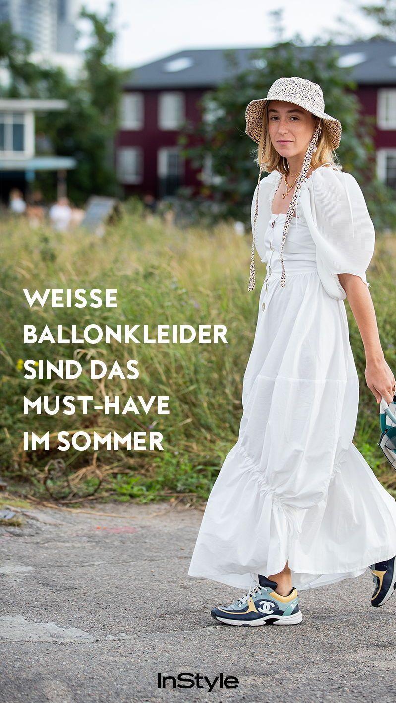 Modetrend: Weiße Ballonkleider sind diesen Sommer ein Must ...