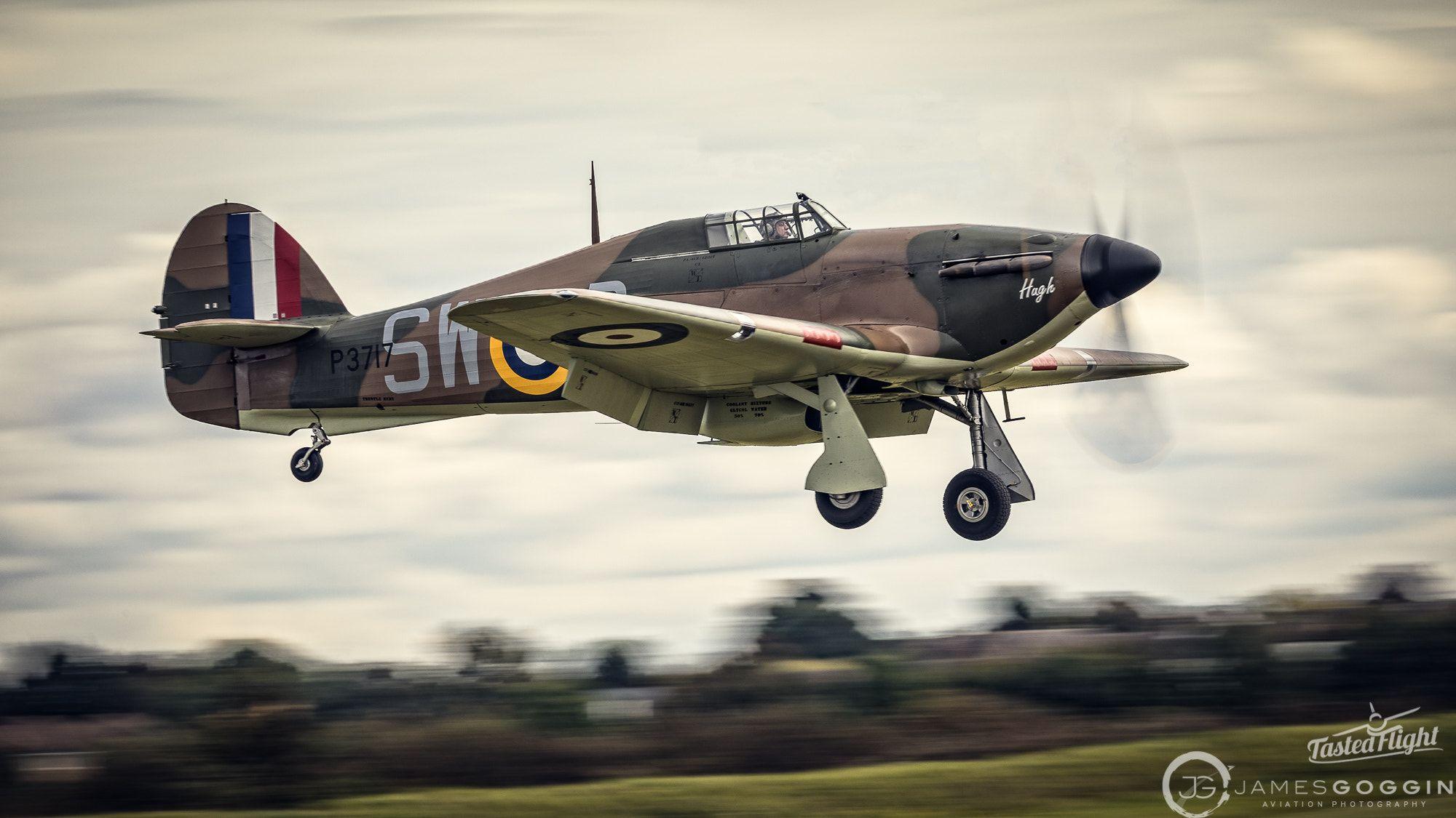 Jg 17 100074 Cr2 Hawker Hurricane Mk I P3717 Sw P G Hitt Bygone Aviation Ltd Hawker Hurricane Navy Aircraft