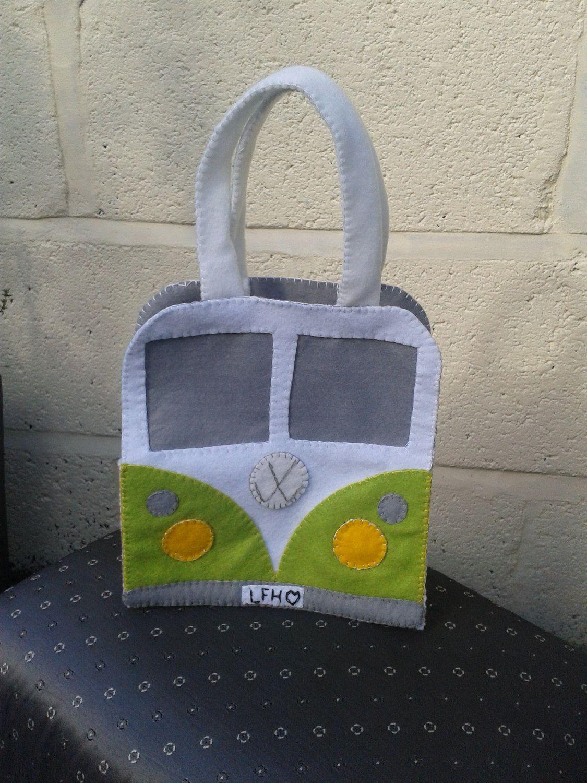VW Bus handbag - I need to make me some!!   Vw vosvos   Pinterest ...