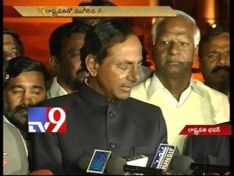 President Pranab assured us that T process will reach logical conclusion - KCR