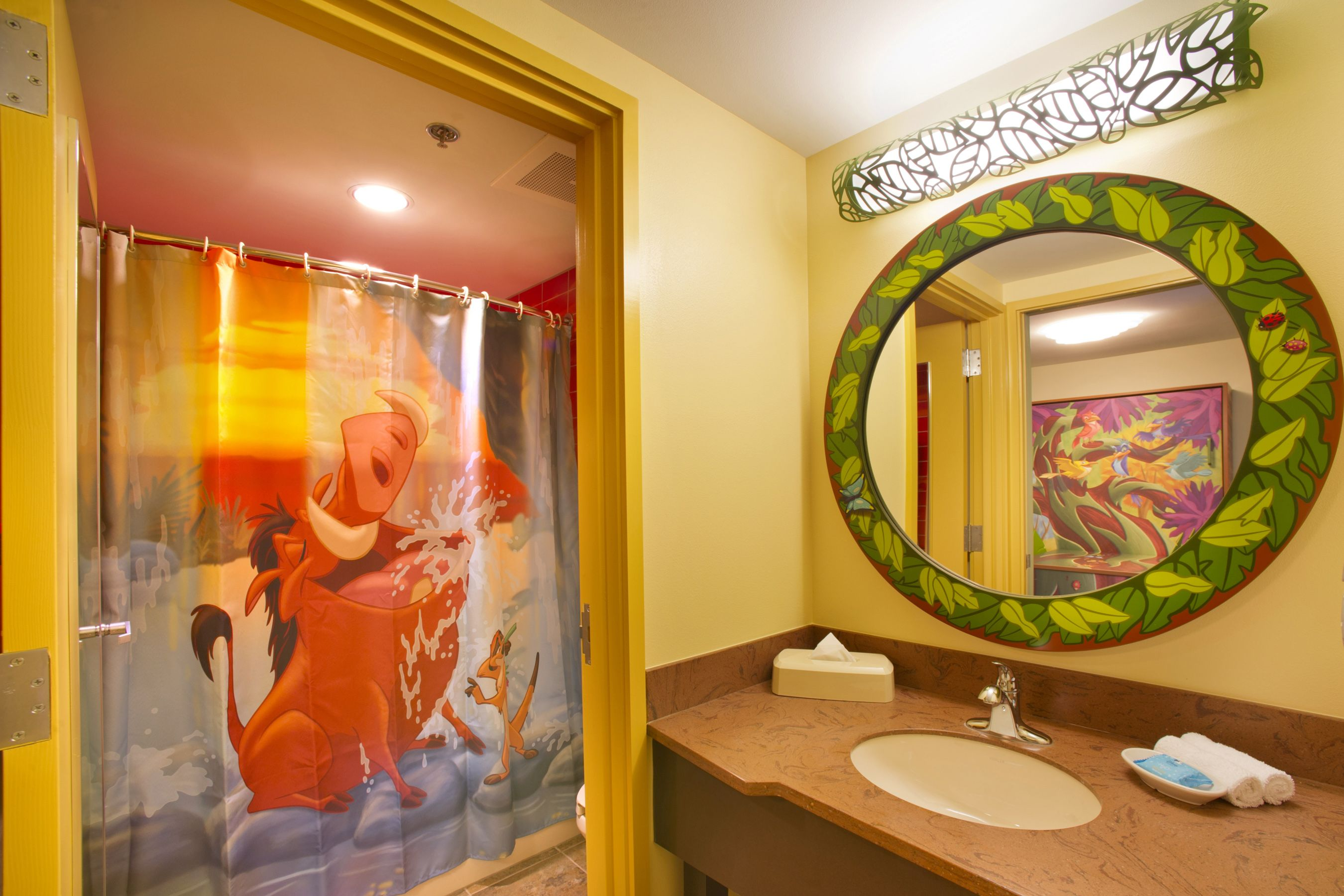 Timon And Pumba Shower Curtain So Cute Disney Art Of Animation