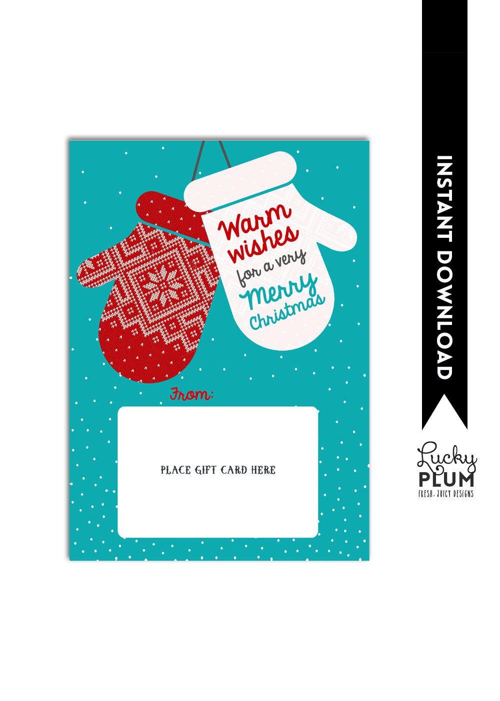 Thanks A Latte Gift Card Holder / Christmas Gift Card Holder ...