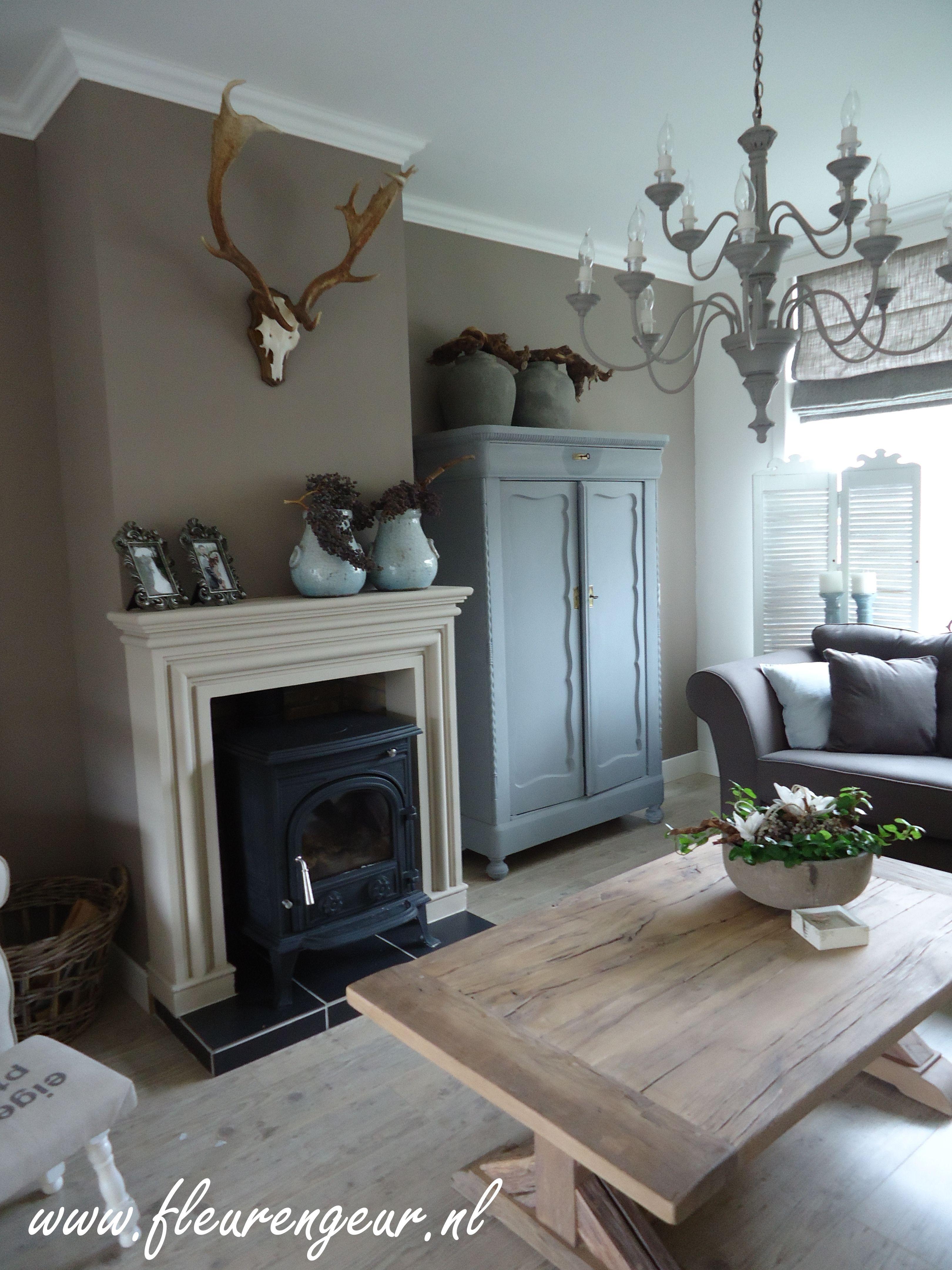 Landelijke woonkamer | Landelijk, brocante stijl | Pinterest ...