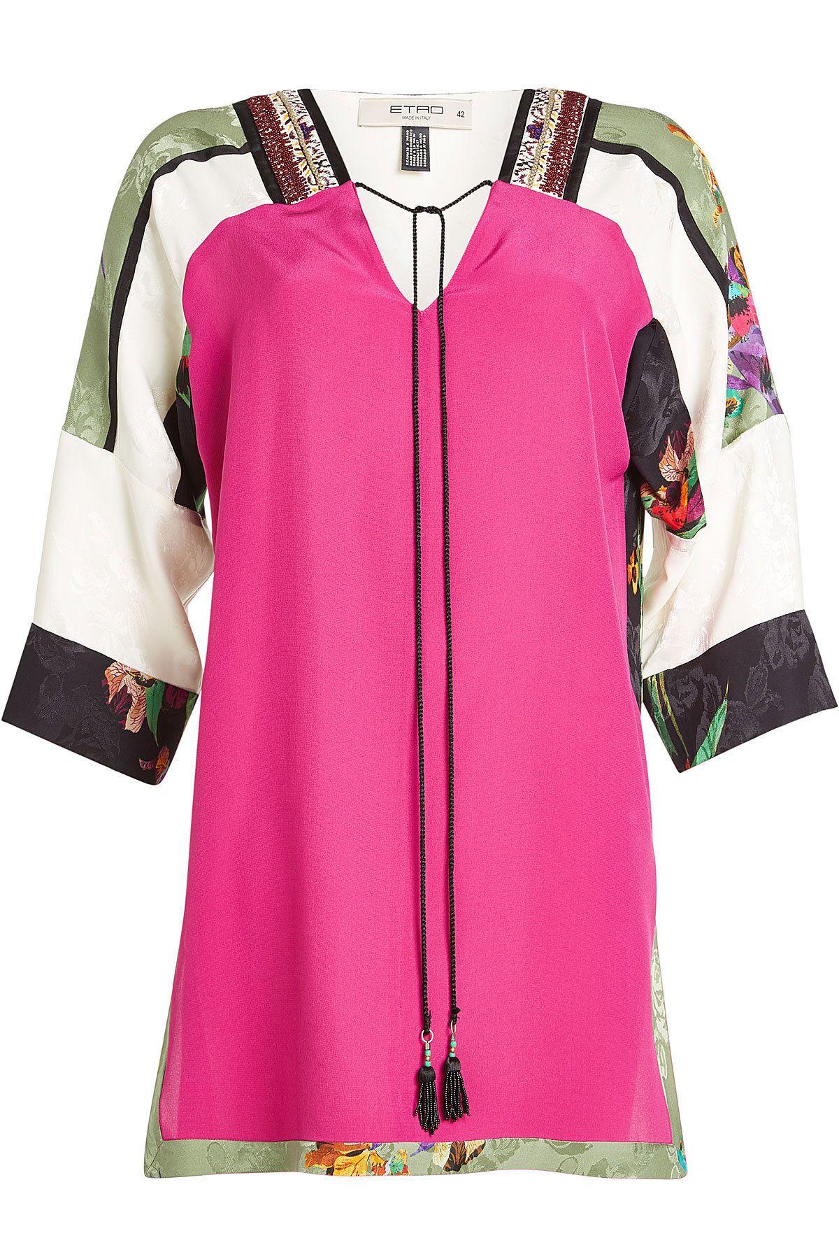 Tunic Blouse with Silk - Etro | WOMEN | KW STYLEBOP.COM