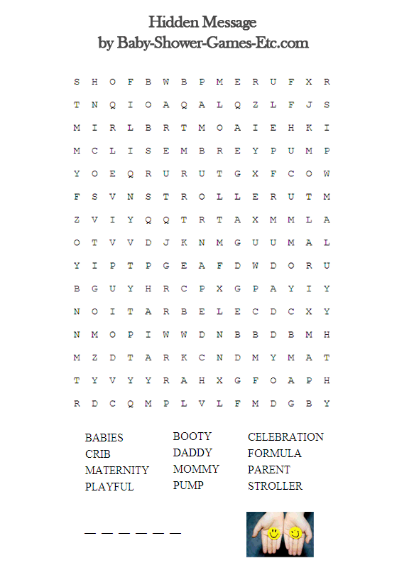 Crossword Puzzle For Baby Shower Part - 24: Looking For Baby Shower Word Search Game? Browse Collection Videos And  Picture Of Baby Shower Word Search Game That We Collect From Various Source  And Get ...