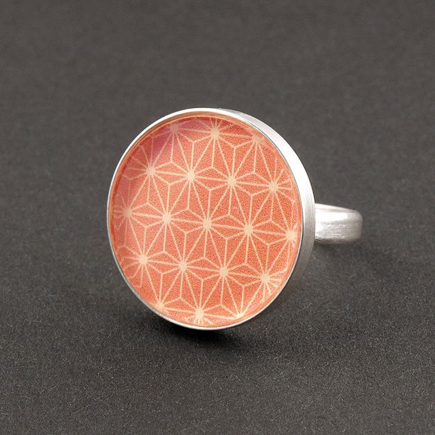 "Ringe - Ring 925er Sterlingsilber ""Muster"" - ein Designerstück von anakarijoka bei DaWanda"
