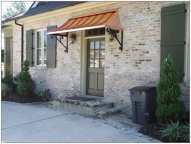 Exceptional Exterior Door Awning 3 Front Ideas