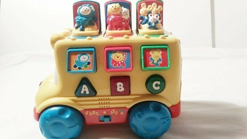 ABC Song | Wheels On The Bus | Nursery Rhymes & Songs For ...  |Fisher Price Bus Nursery Rhymes