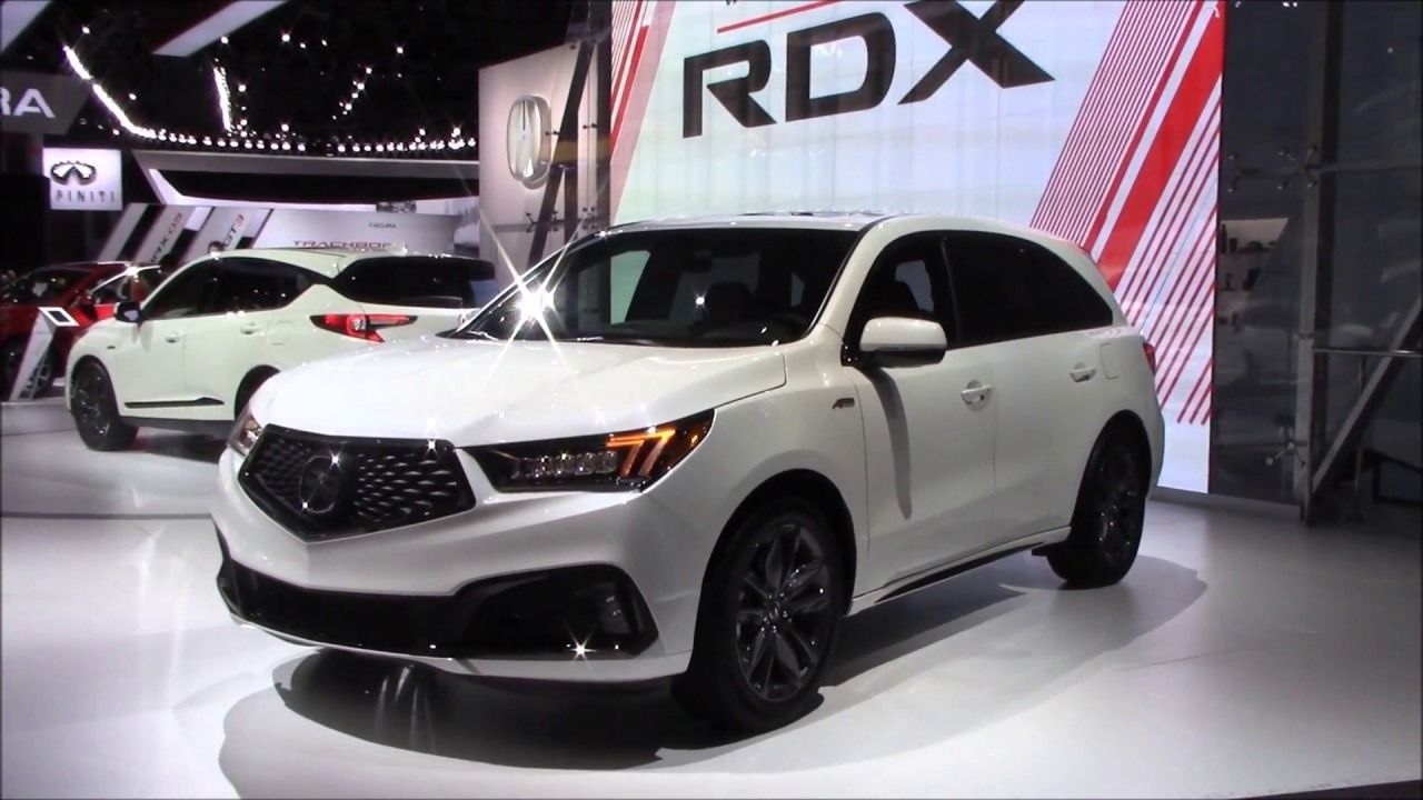 2019 Acura Mdx Redesign and Price Car Review 2018 (With