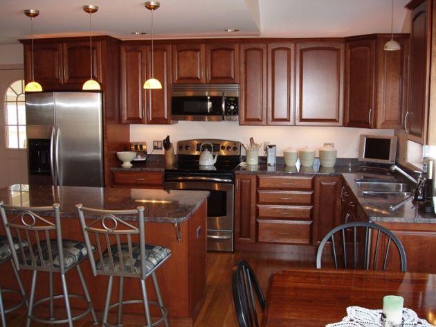 Kraftmaid Chestnut Maple Kitchen Cabinets  Kitchen Cabinets Amusing Designs Of Kitchen Cabinets Design Inspiration
