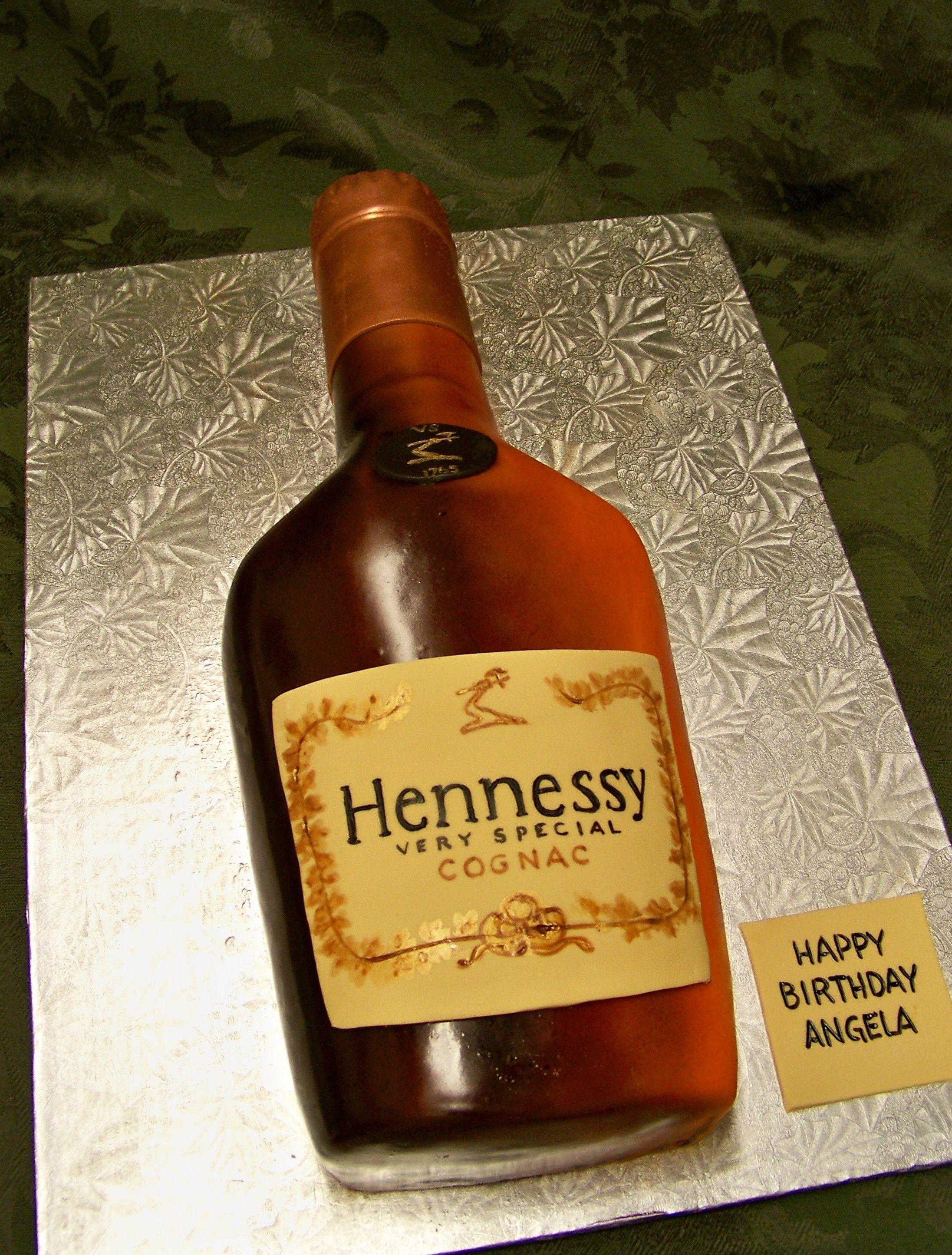 Hennessy bottle cake | Yes, it's cake. | Hennessy cake, Bottle cake ...