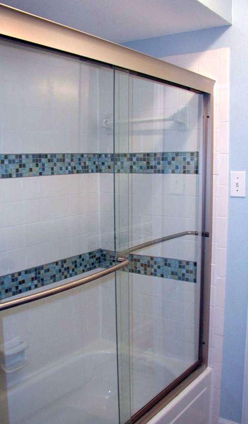 Bathroom Glass Tile Accent Ideas blue glass tile accent bathroom | spectralight karma dorado