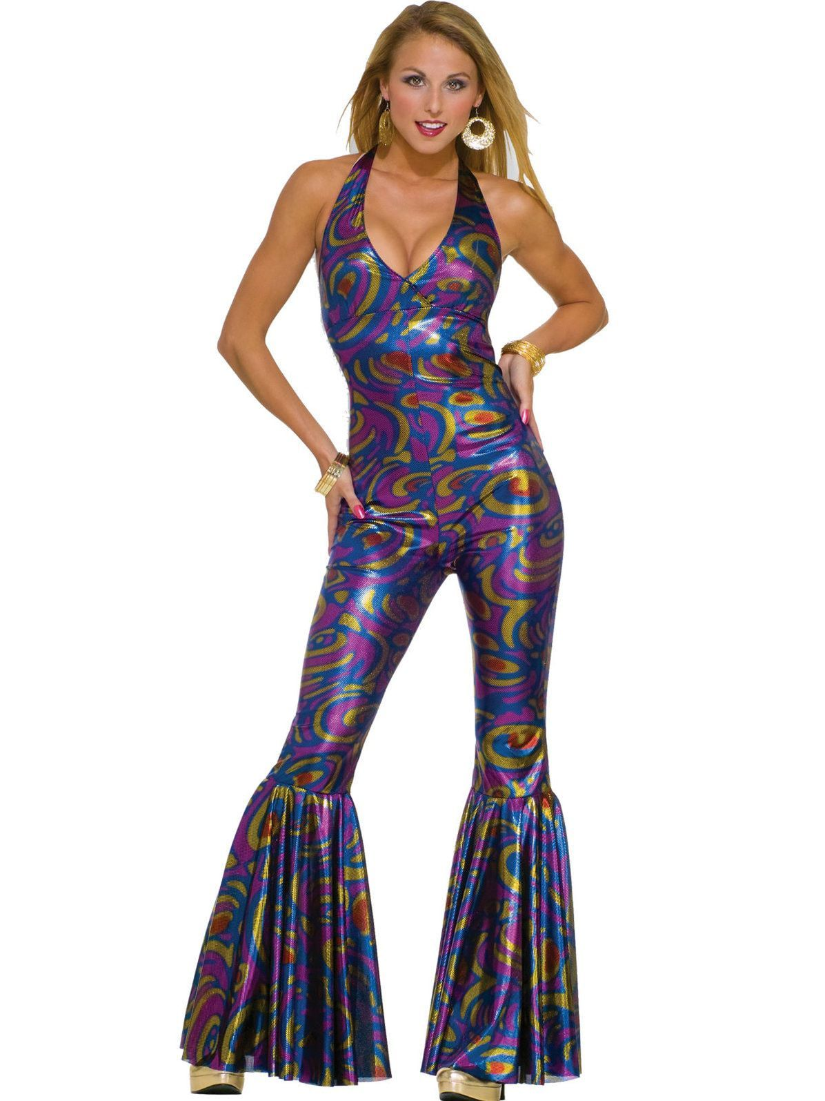 Funky dancinu fox adult costume in s theme costumes