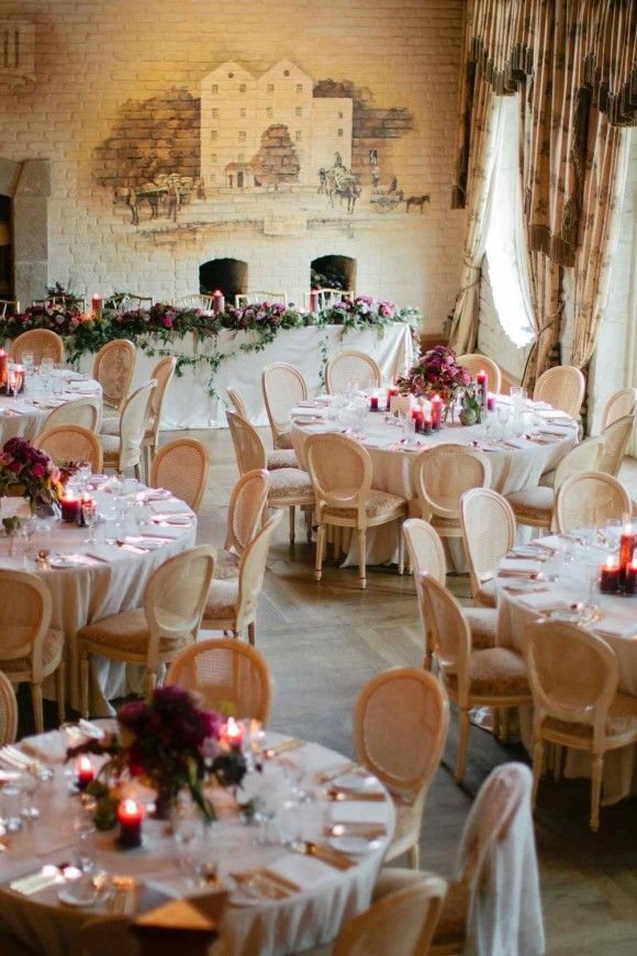 Woodsy wedding inspiration in a glasshouse