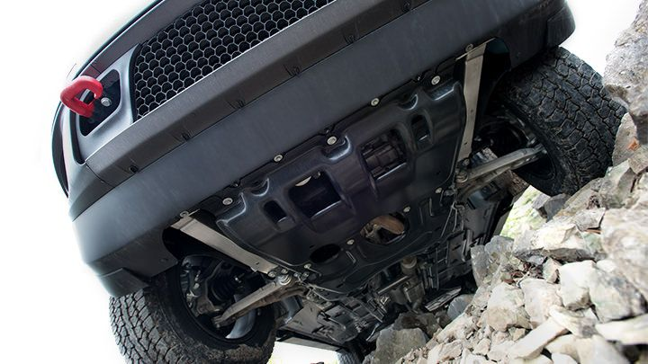 Jeep® Cherokee Trailhawk® features skid plates to help ...